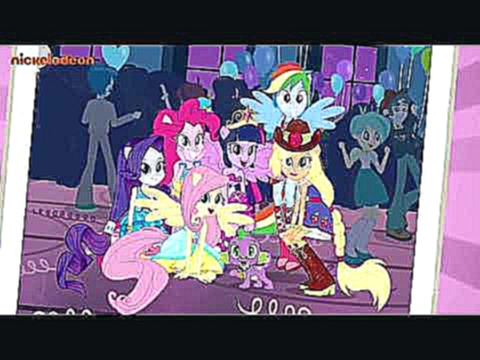 Видеоклип My little Pony Equestria Girls - This is Our Big Night (Reprise) (Song/German)