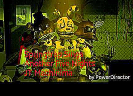 Видеоклип Springtrap Sings #10 - Another Five Nights