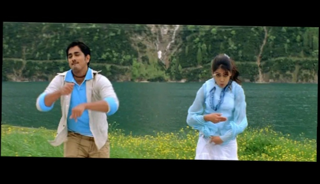 Видеоклип Siddharth & Genelia Love you like a love Song