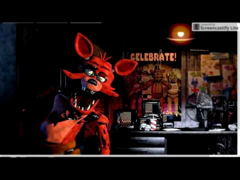 Видеоклип Foxy Fazbear sings Five Nights At Freddy's 4 song (Break my mind) by dagames