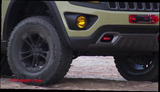 Видеоклип Jeep Grand Cherokee Overlander Concept Vehicle