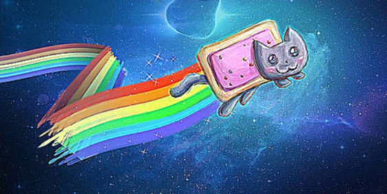 Видеоклип Nyan Cat - dubstep remix