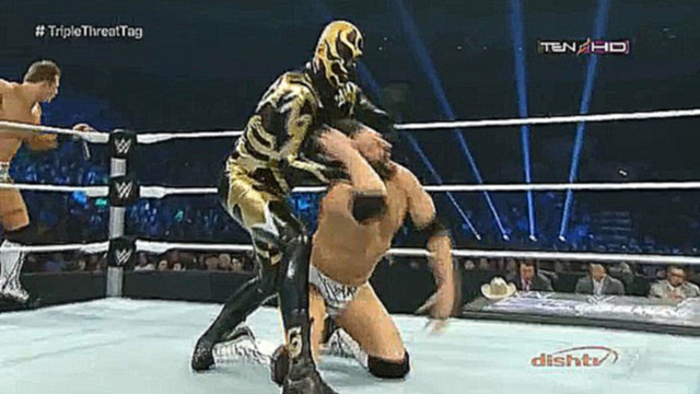 Видеоклип [#My1] WWE SmackDown 09.01.2015 - The Usos vs. Goldust & Stardust vs. Damien Mizdow & The Miz