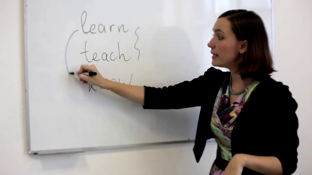 Видеоклип Learn, Know and Teach - commonly confused verbs