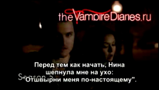 Видеоклип The Vampire Diaries cast recalls working with Nina Dobrev: 'Nina's our Queen Bee' [Русские субтитры]