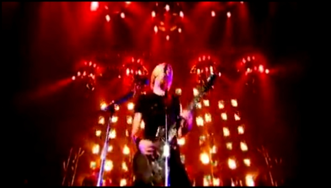 Видеоклип Nickelback - Burn It To the Ground