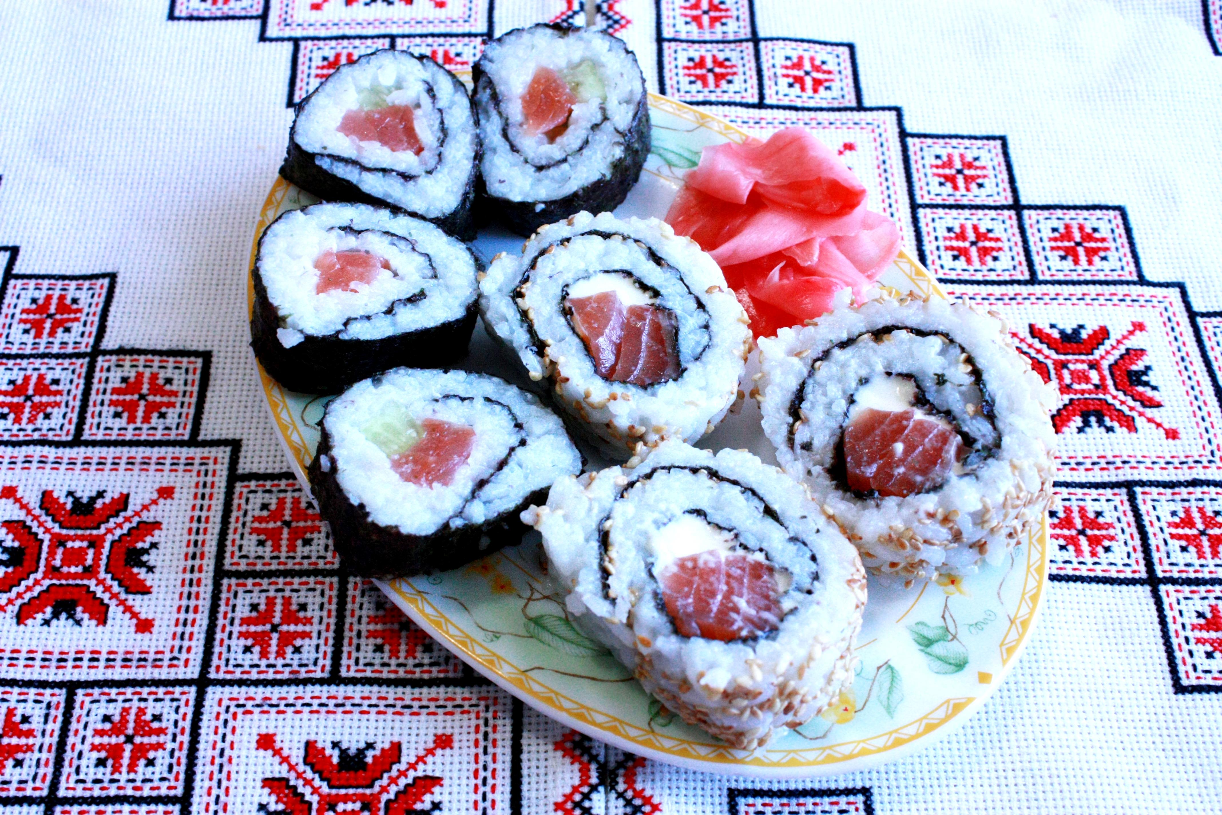 Суши роллы своими руками рецепты