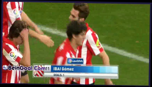 Видеоклип Goal  Ibai - Athletic Bilbao 5-1 Almeria - 11-01-2014 Highlights