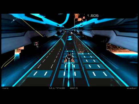 Видеоклип Audiosurf 2 [Multipass]