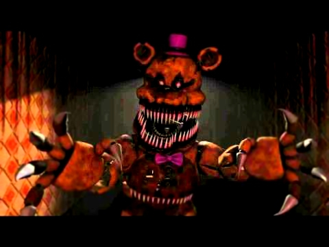 Видеоклип (SFM)(FNAF4 Song)Sweet Dreams By Aviators W.I.P