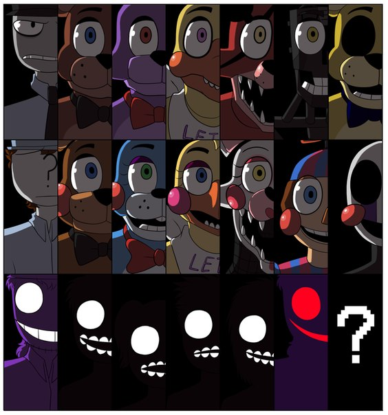 картинки марионетки из 5 ночей с фредди 2