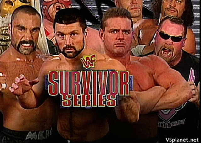 Видеоклип Mero, Goldust, Blackman, Vader vs Neidhart, Bulldog, Laphon, Fournas, WWF Survivor Series 1997