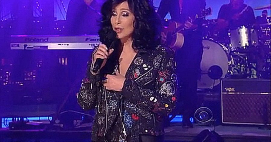 Видеоклип [HD] Cher ~ I Hope You Find It ~ David Letterman  24 09 2013 HD
