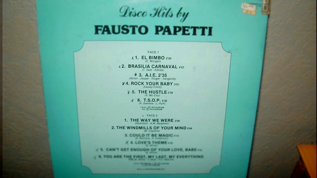 Видеоклип fausto papetti - can't get enough of your love babe
