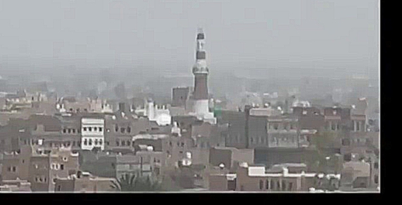Видеоклип 9th May 2015, Saudi coalition airstrikes damage Imam al-Hadi mosque + destroy market in Saada Yemen