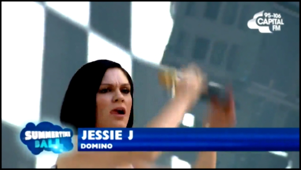 Видеоклип Jessie J - Domino (Capital Summertime Ball 2014)  HD 21 06 2014