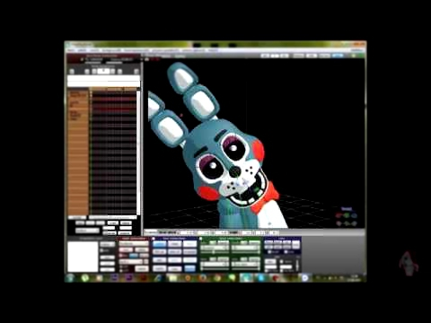Видеоклип [SpeedPaint/SpeedMaking] Toy Bonnie - |Do you like Rock?| (Five Nights at Freddy's 2) #1