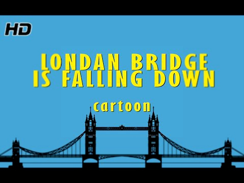 Видеоклип London Bridge is Falling Down Nursery Rhymes | English Animated Rhymes rhymes for kids children