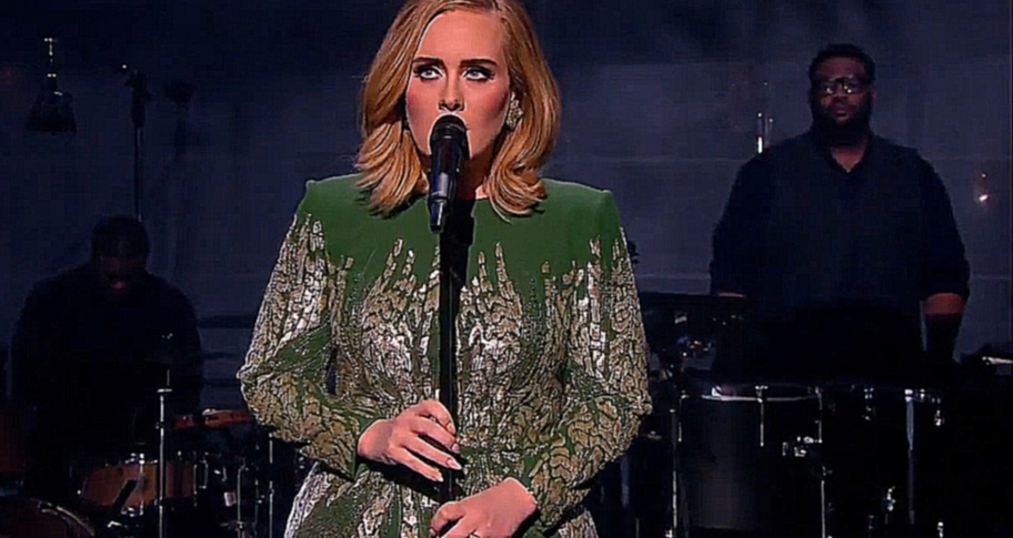 Видеоклип Adele - Skyfall (Live on BBC One)