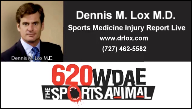 Видеоклип 620 WDAE Sports Injury Report with Dr. Lox - John Wall