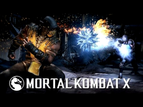 Видеоклип Mortal Kombat XL Scorpion vs Sub-zero