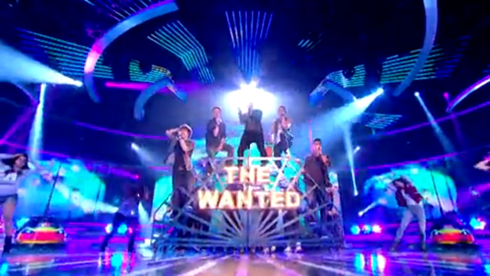 Видеоклип The Wanted - Glow In The Dark