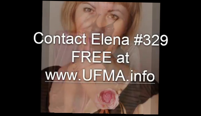 Видеоклип Elena 329. A Girl You've Been Looking For So long!