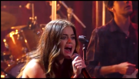 Видеоклип Lucy Hale - Red Dress - Live on the Honda Stage at the iHeartRadio Theater LA Y HD