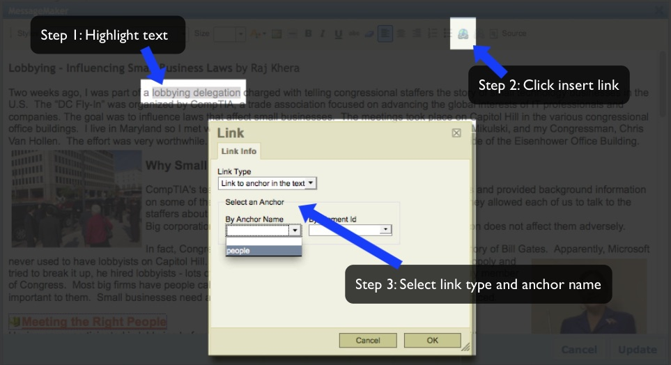 the steps in signing up and accessing twitter