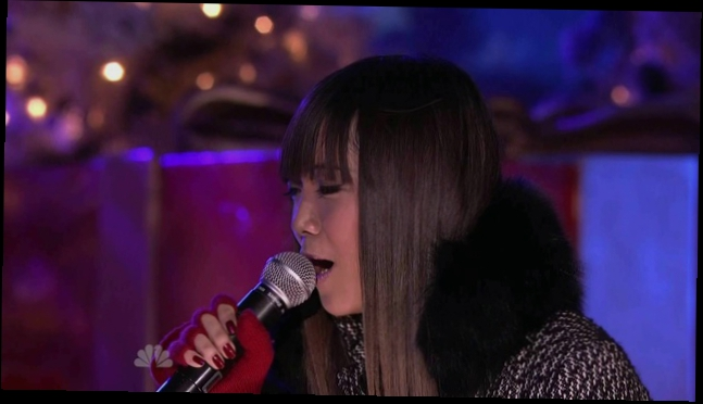Видеоклип Charice sings Jingle Bell Rock at Rockefeller Plaza New York
