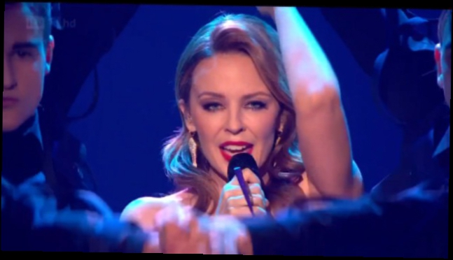 Видеоклип Kylie Minogue - Can't Get You Out of My Head (The X Factor)