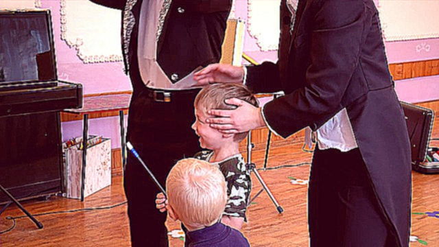 Видеоклип Magicians Egor and Maria Kravchenko. Magic show for kids (www.clowns.by, magician.by)