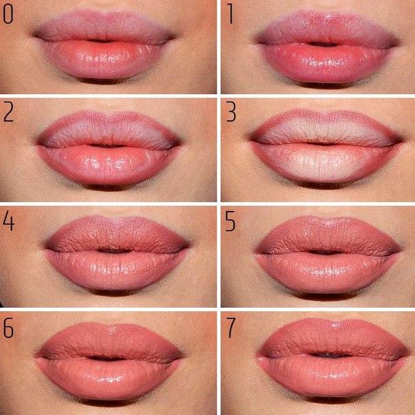 Как сделать губы розовее