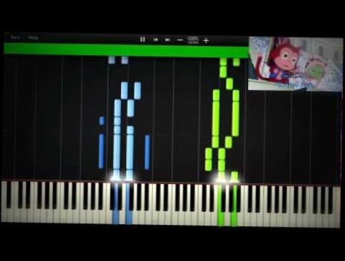 Видеоклип Fairy Tail Opening 14 - Yakusoku no Hi e (Synthesia)(Piano)