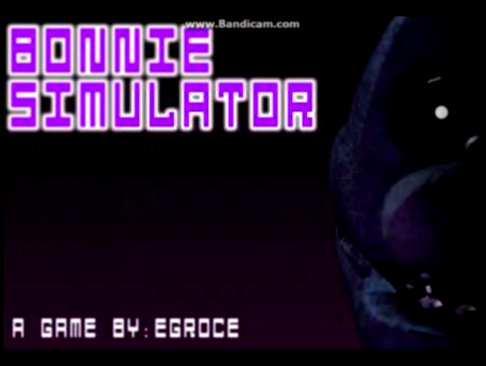 Видеоклип Bonnie Simulator OST - Bonnie Theme Call to Adventure