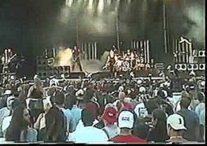 Видеоклип Rammstein - Gilford, Meadowbrook Farm, U.S.A, 14/07/2001 [part 1]