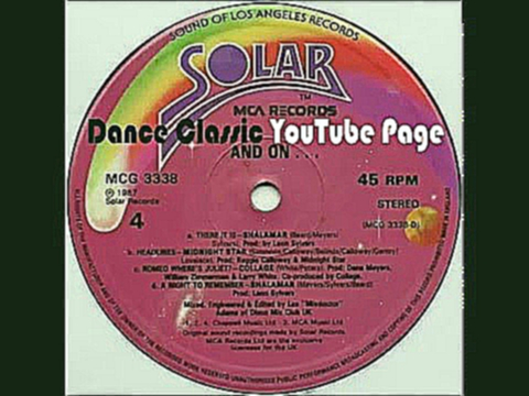 Видеоклип Solar Records - Megamix II - And On...