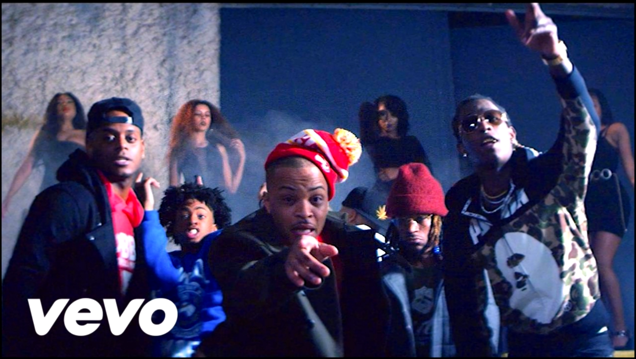 Видеоклип Bankroll Mafia - Out My Face (Official) ft. T.I, Shad Da God, Young Thug, London Jae