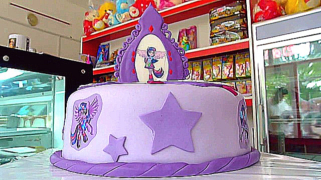 Видеоклип twilight-sparkle-equestria-girl-cake