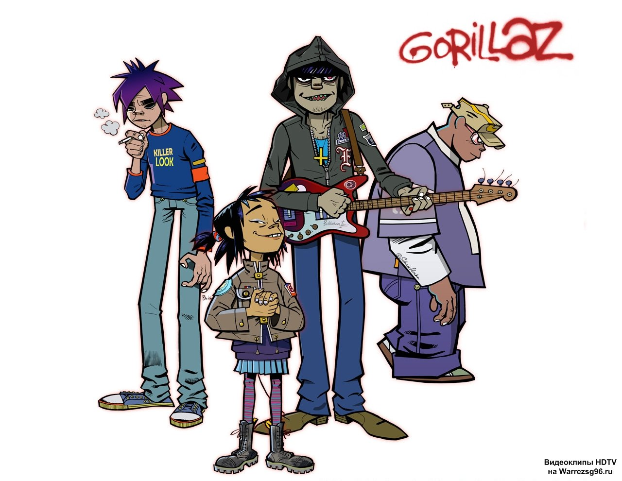 скачать песню gorillaz-feel good inc