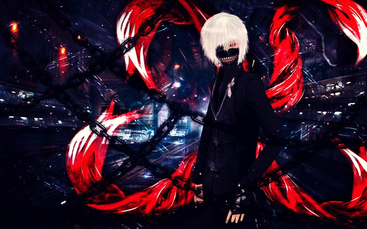 Картинки токийский гуль черно белые