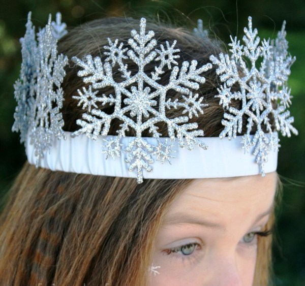 Как сделать корону для снежной королевы своими