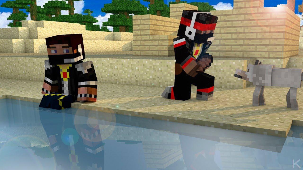 Minecraft [прохождение карты] #1 mistik и lagger 7 youtube.