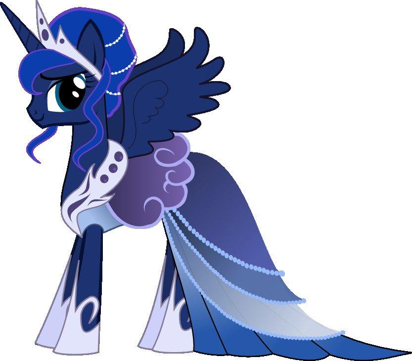 Играть принцесса луна пони