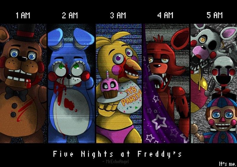 5 ночей с фредди картинки 2