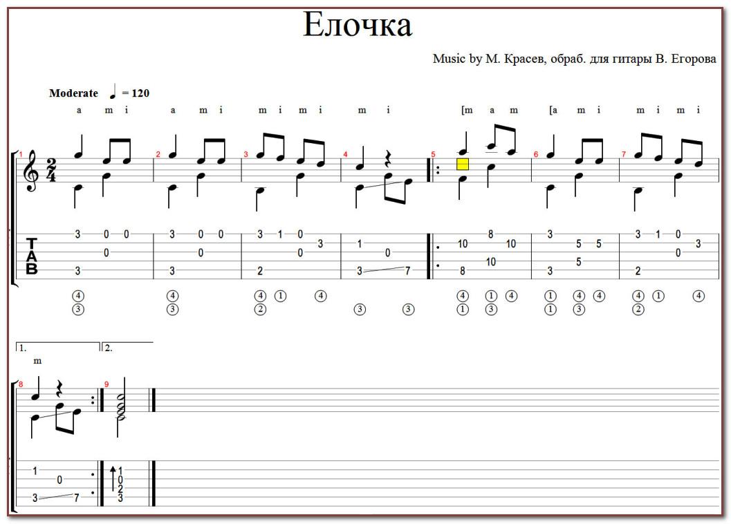 табы для гитары популярных песен бас абба дамы сразу признают