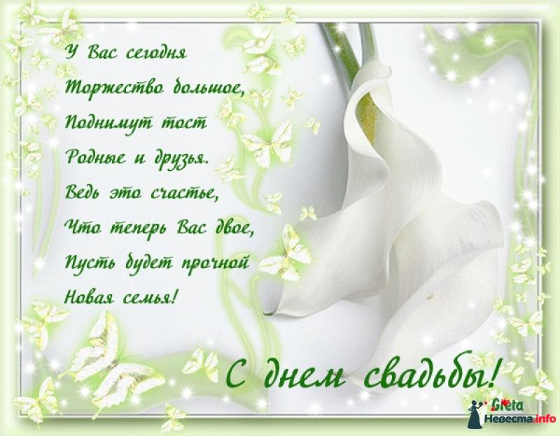 Поздравления на свадьбу натальи и сергея