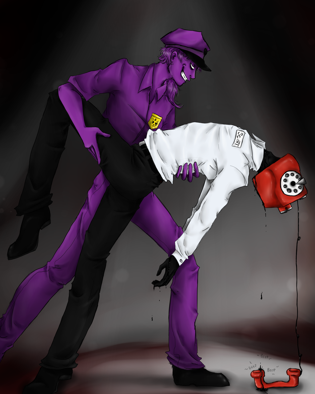 Purple guy fnaf xxx softcore pictures