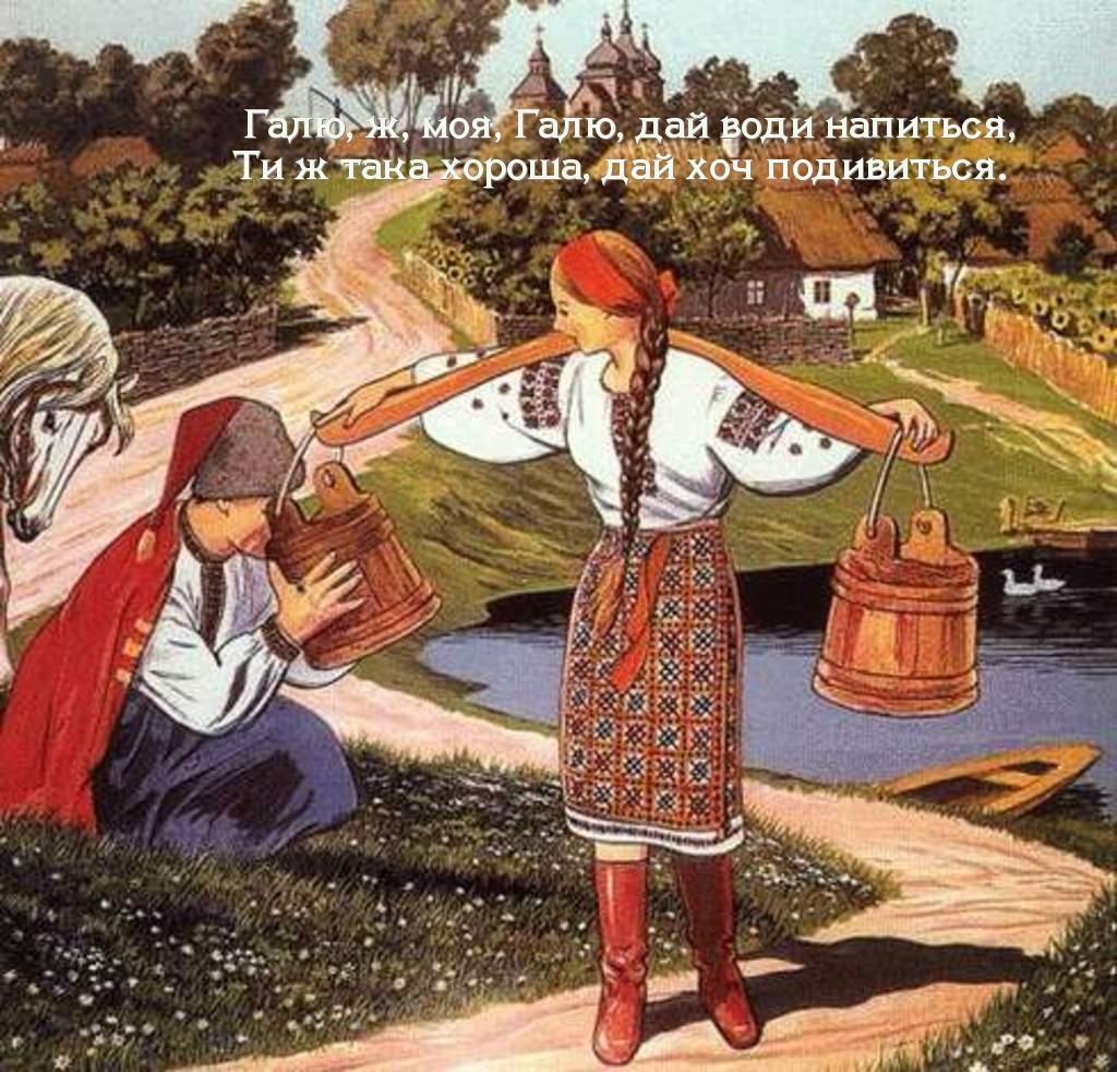 Текст песни Чорнобривц перевод на Русский