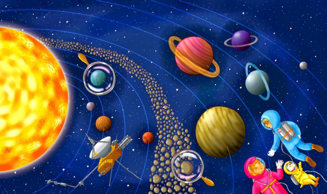 Рисунки о космосе 21 фотография